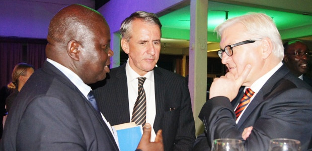 German foreign Minister Meets ED